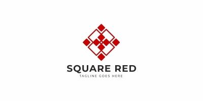 Square Red Logo