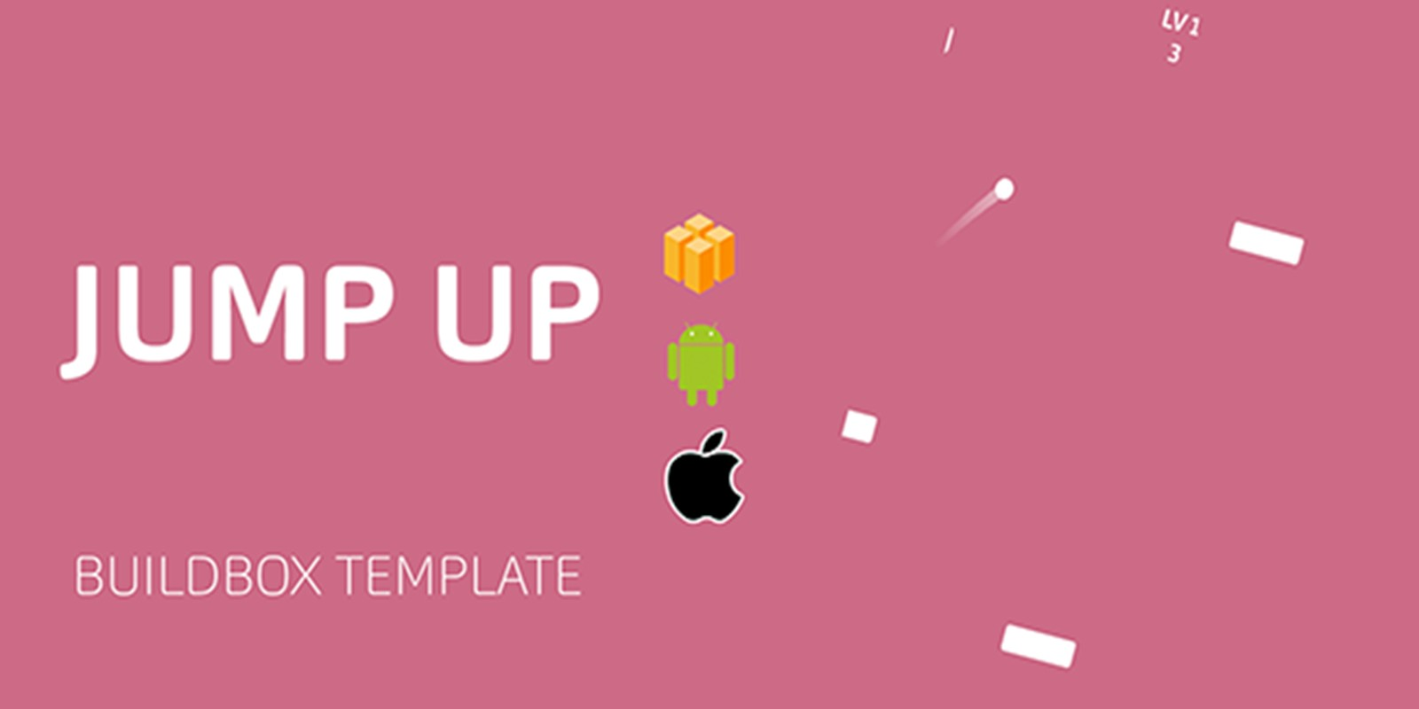 Jump Up Buildbox Template