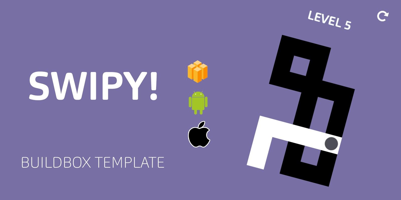 Swipy Buildbox Template