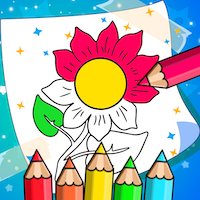 Flower Coloring Game For iOS