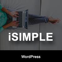 iSimple - WordPress Blog Theme