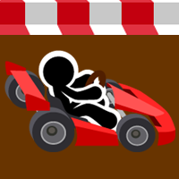 Stickman Go Kart - Buildbox Template