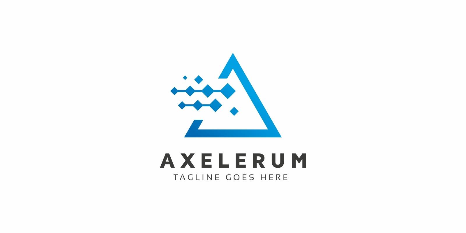 Axelerum A Letter Logo