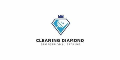 Cleaning Diamond Logo