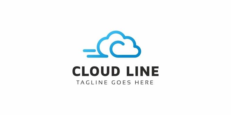 Cloud Line C Letter Logo
