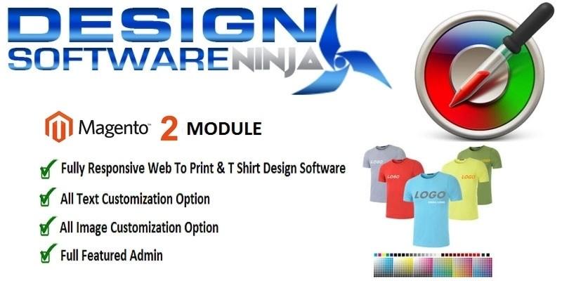 Tshirt Design And Product Customization Magento