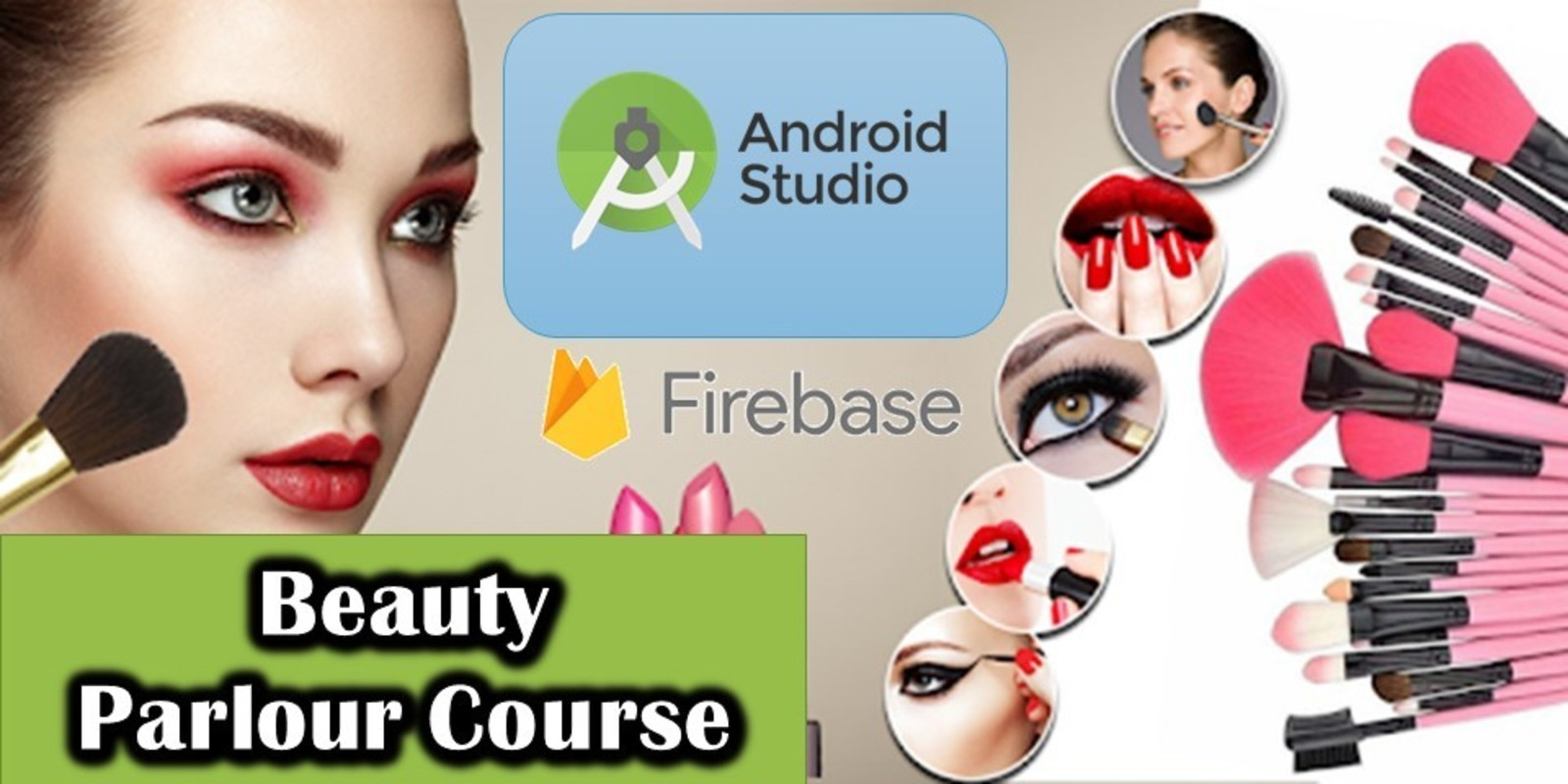 Beauty Parlour Course Android Studio Project