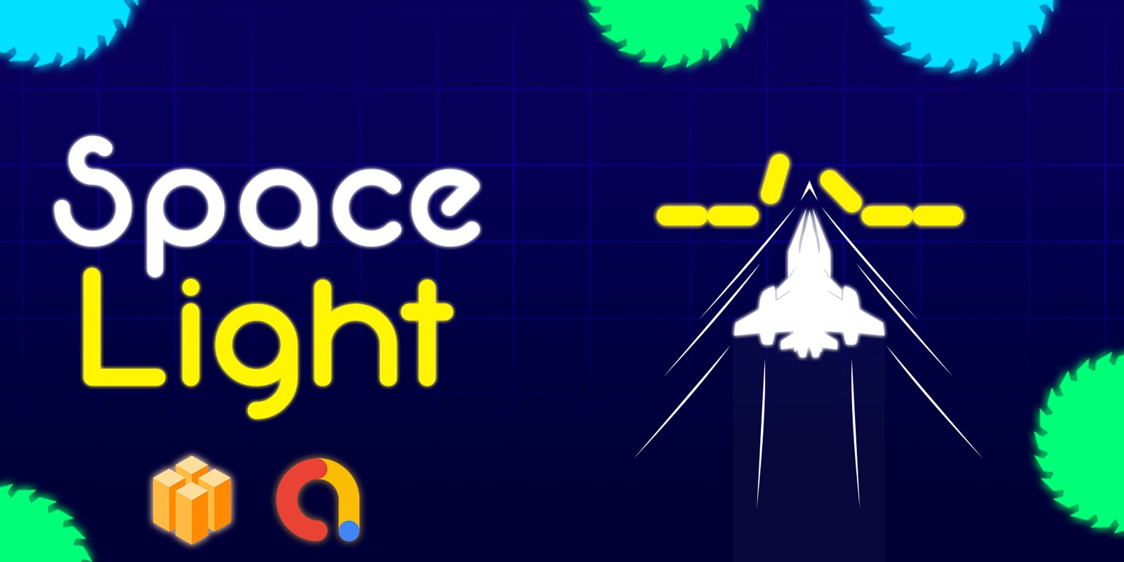 Space Light Game Template Buildbox