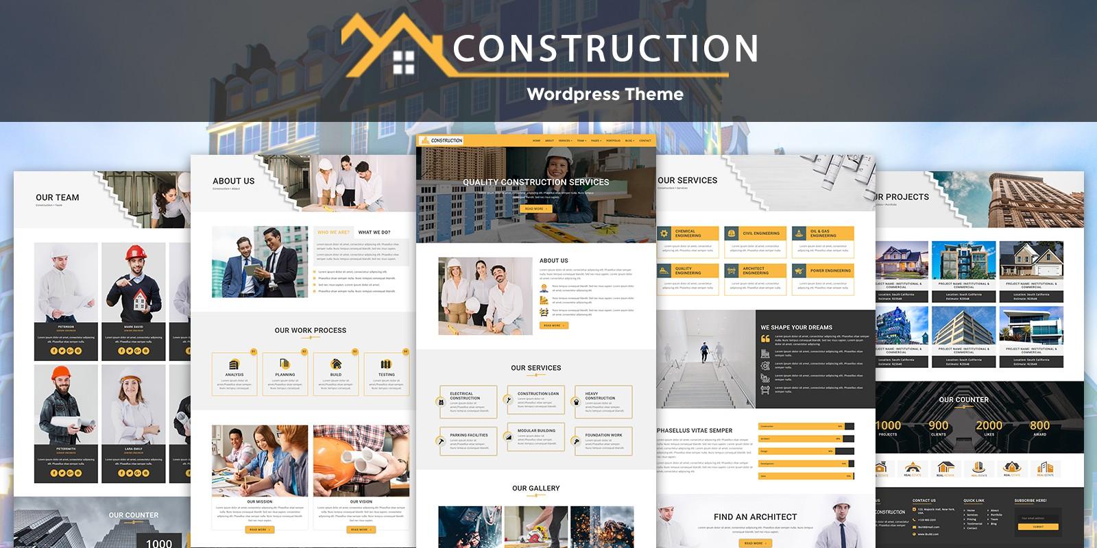 iConstruction - WordPress Theme