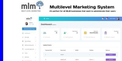 MLM - Multilevel Marketing System PHP