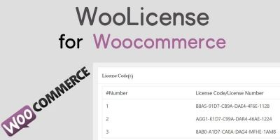 WooLicense For WooCommerce