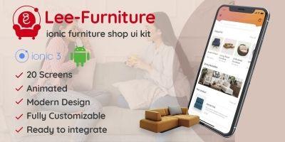 Lee - Ionic Furniture Shop UI Theme
