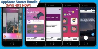 AppStore Starter Bundle - 5 iOS Application