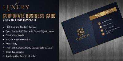 Luxury - Corporate Business Card
