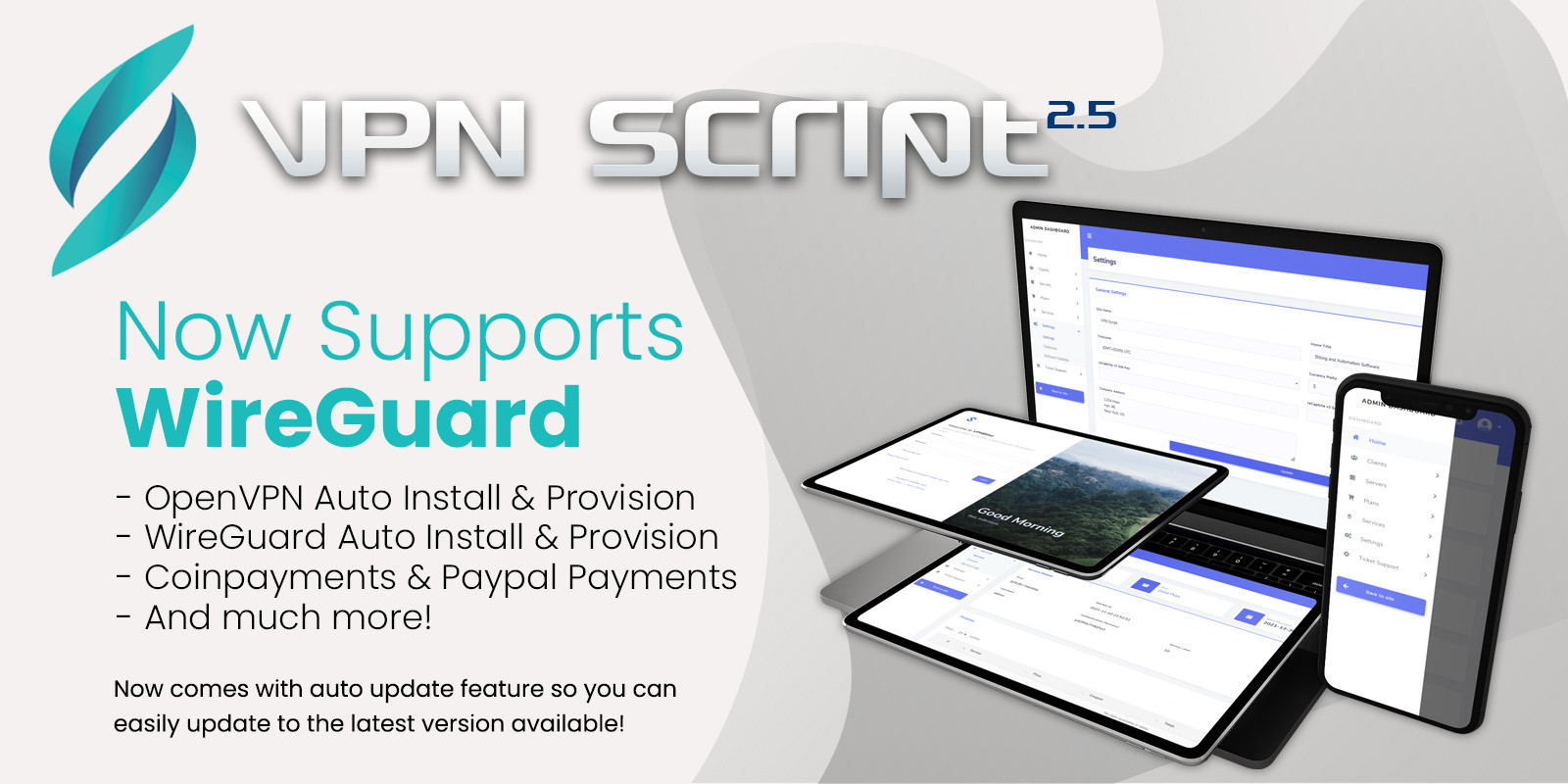 VPN Script - Advanced VPN Management Script