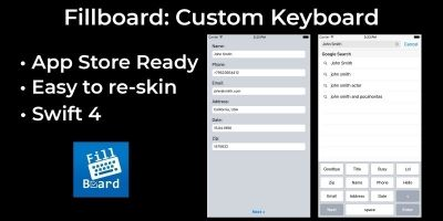 FillBoard - Custom Keyboard iOS
