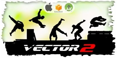 Vector Parkour 2 Full Buildbox Game