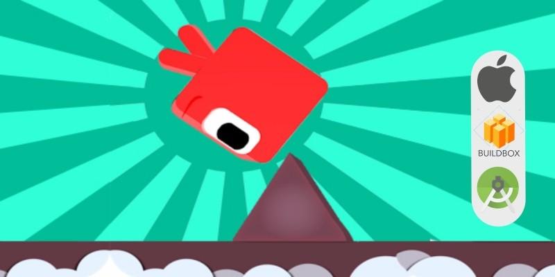 Cube Run Full Buildbox Game