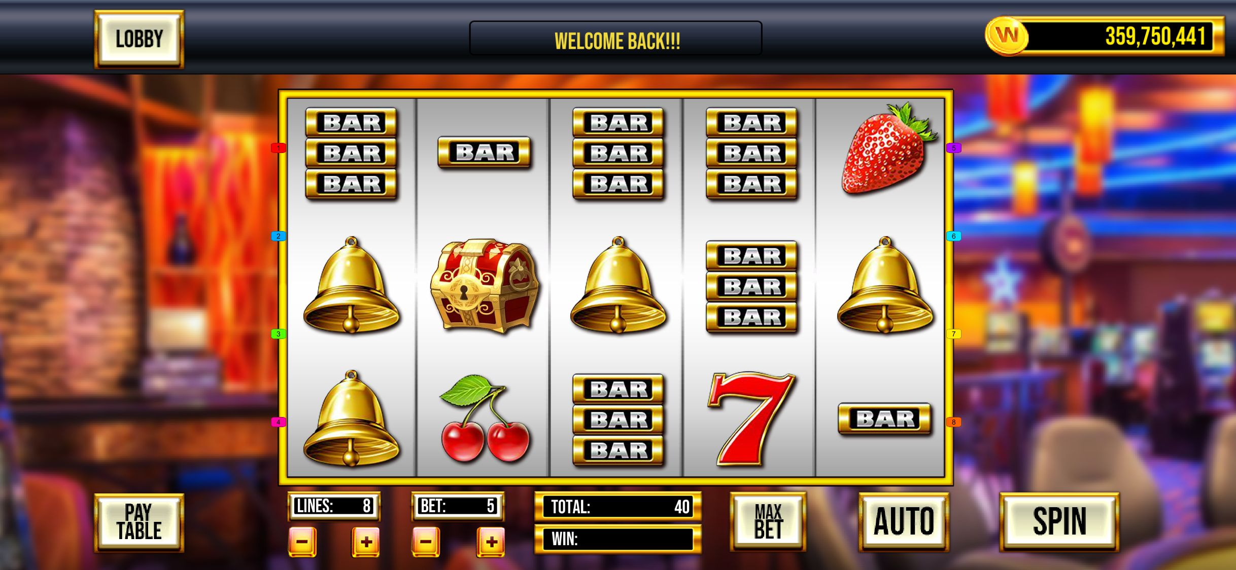 Video Slot Machine Games Free