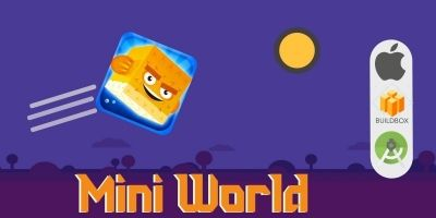 Mini World Full Buildbox Game Template