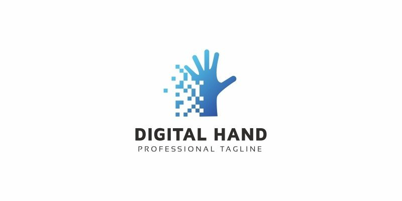 Digital Hand Logo