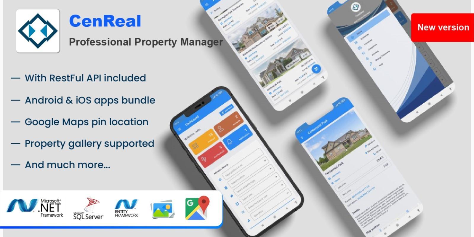 PerfectReal RealEstate Management App - Xamarin