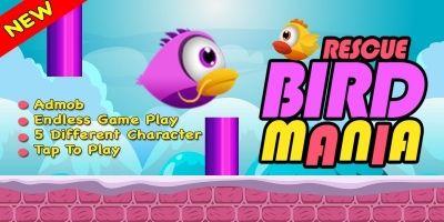 Rescue Bird Mania - iOS Source Code