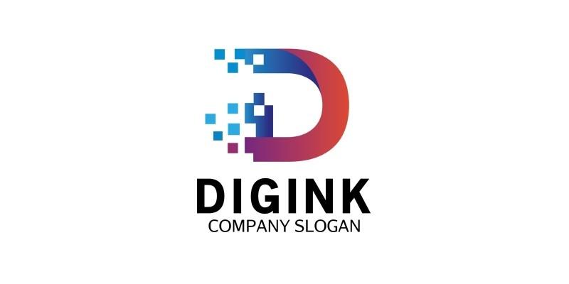 Colorful D Letter Logo