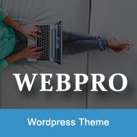 WebPro - Corporate WordPress Theme using Elementor