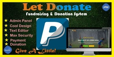 Let Donate - Fundraising Donation System Script