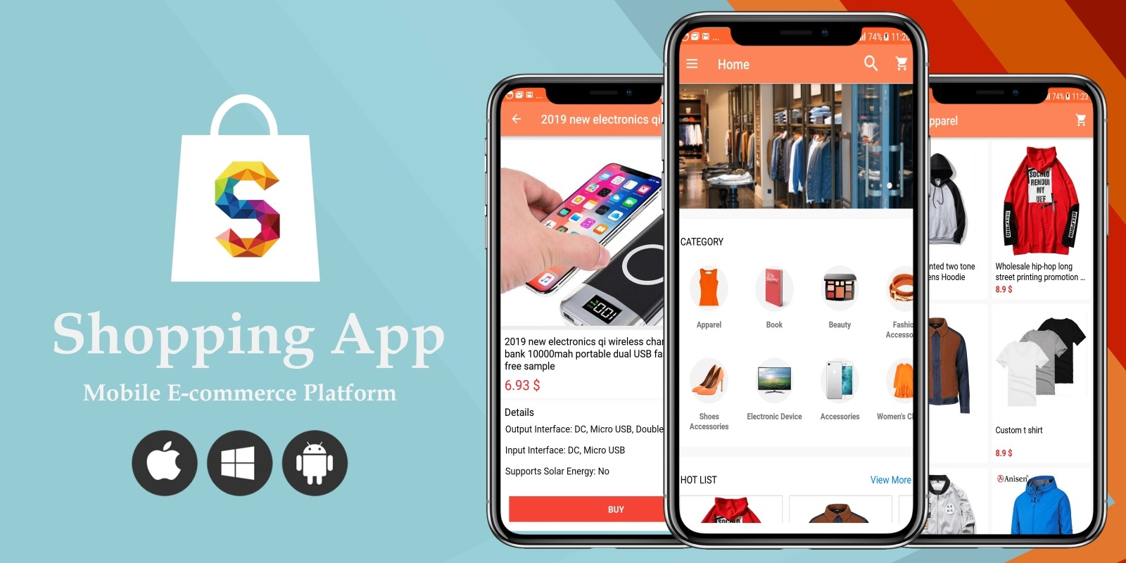 Shopping App - Android Source Code