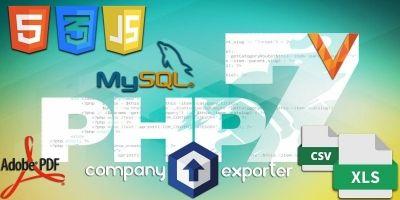 Company Data Exporter Script