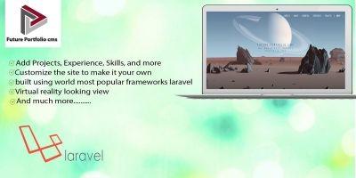 Future Portfolio CMS - Laravel Script