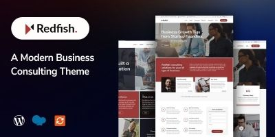 Redfish -Modern Business WordPress Theme