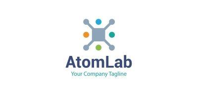 AtomLab Company Logo