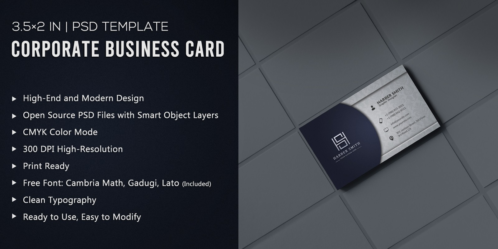 Luxury - Corporate Business Card