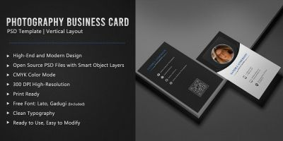 Photography Corporate Business Card
