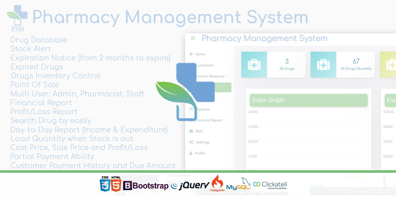 Pharmacy Management System Script