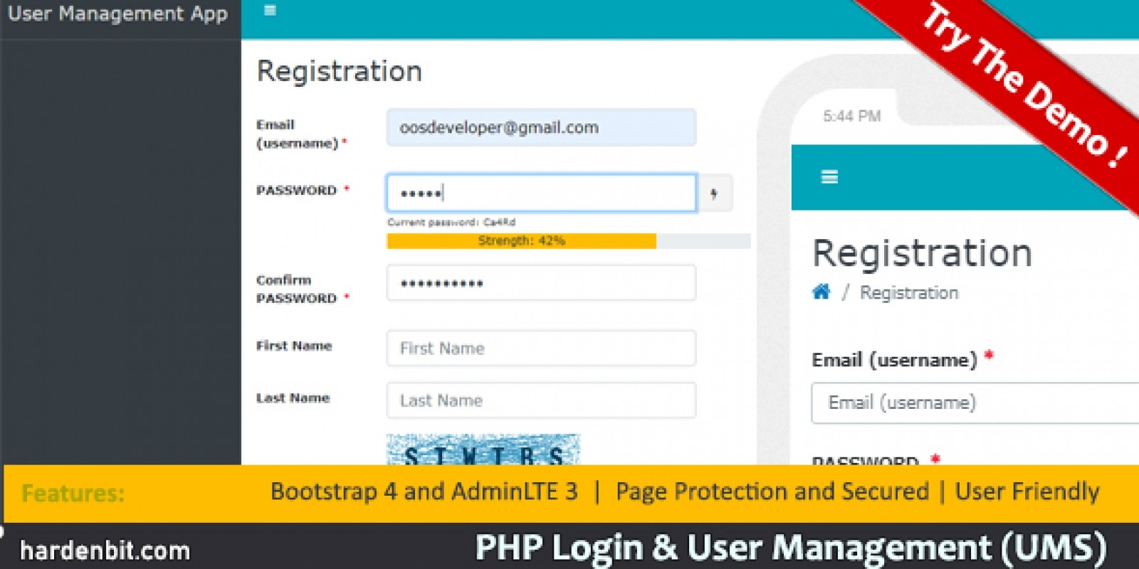 PHP Login And User Management
