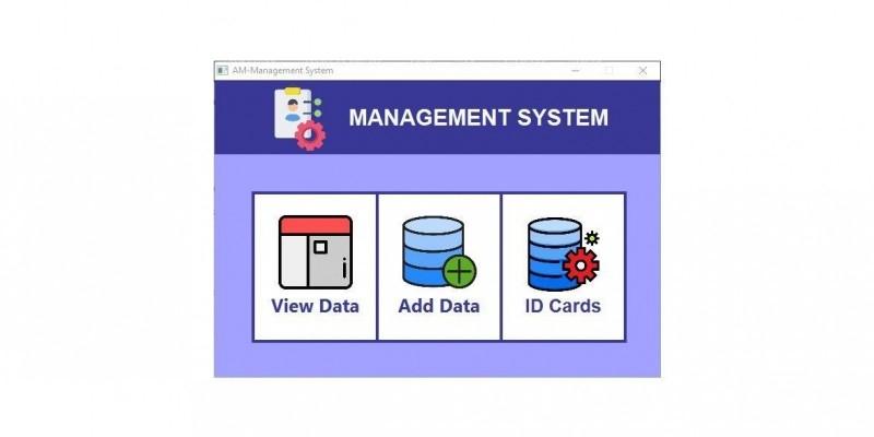 AM Data Management System Script