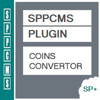 Coins Convertor - SPPCMS Plugin