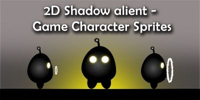 Shadow alient -  Game Character Sprites