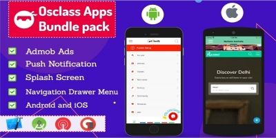 Osclass Android and iOS App Bundle Pack