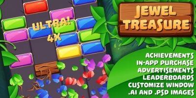 Jewel Treasure - Complete Unity Project