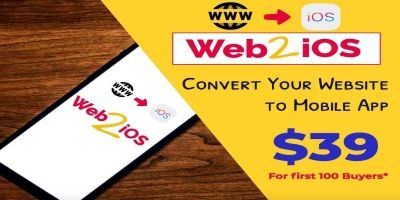 Web2iOS - Convert Your Website To Mobile App