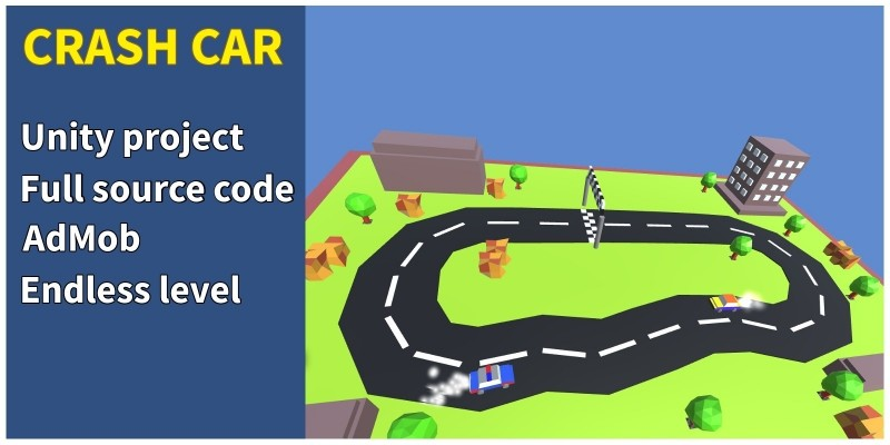 Crash Car - Unity Game