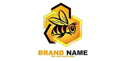 Bee Logo Template