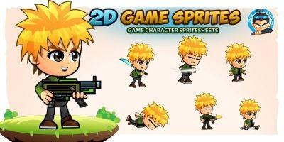 Reid 2D Game Sprites