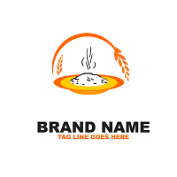 Rice Logo Template