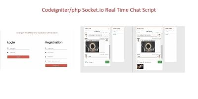Codeigniter Socket.IO Real Time Chat